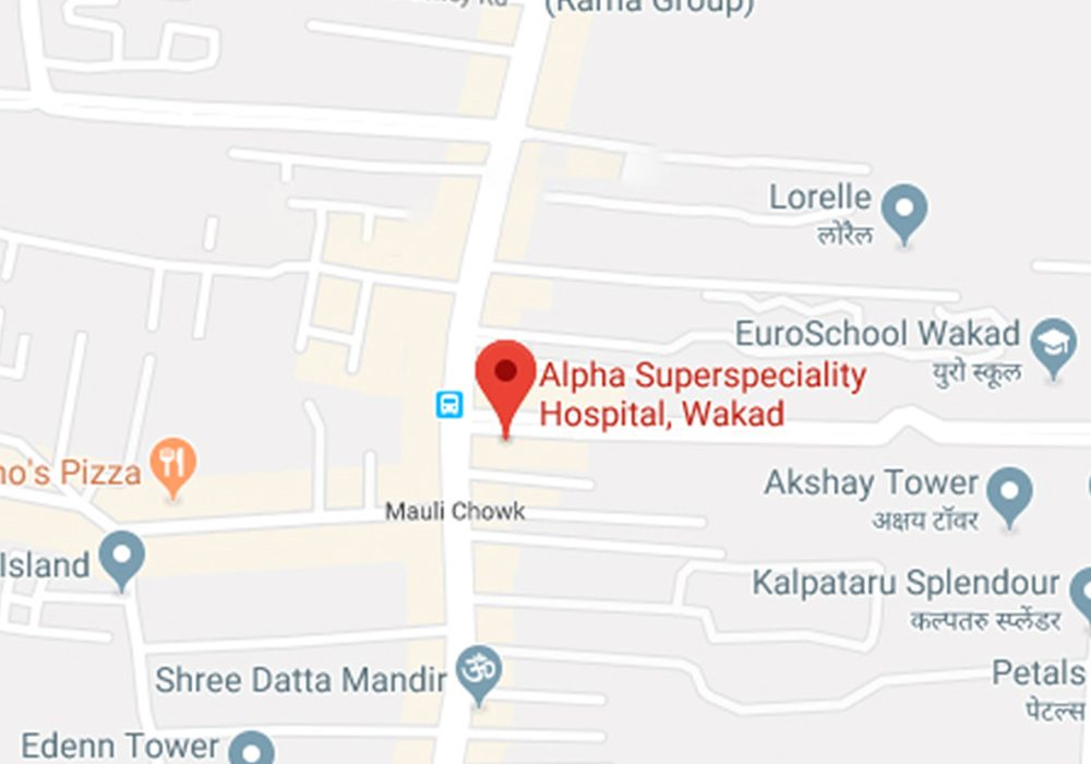Alpha Hospital Pune Google Maps Screenshot